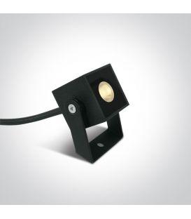 1W LED Maapiikkivalaisin IP65 Anthracite 7052B/AN/W