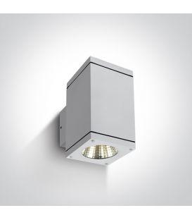 12W LED Seinävalaisin IP54 White 67138A/W/W