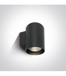 20W LED Seinävalaisin IP65 Anthracite 4000K 67138EL/AN/C