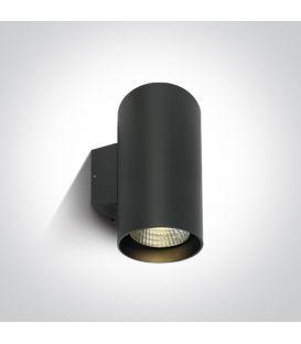 40W LED Seinävalaisin IP65 Anthracite 4000K 67138L/AN/C