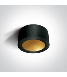 16W LED Kattovalaisin Black Ø17.5 12116FD/B/BS