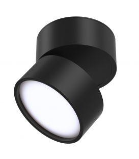 12W LED Kattovalaisin ONDA Black 4000K C024CL-L12B4K