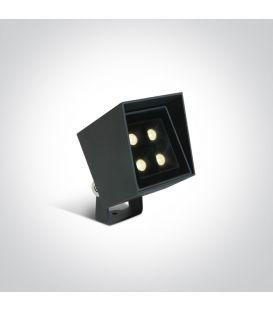 6W LED Maapiikkivalaisin IP65 Anthracite 67514/AN/W