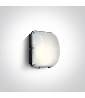 50W LED Seinävalaisin IP65 Black 4000K 7056/C