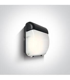 50W LED Seinävalaisin IP65 Black 4000K 7056A/C
