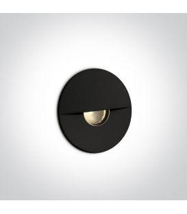 1W LED Alasvalo Black IP65 3000K 68070/B/W