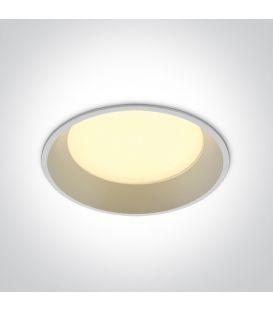 22W LED Alasvalo DARK LIGHT White 4000K 10122D/W/C