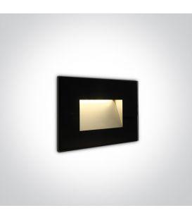 4W LED Alasvalo Black IP65 3000K 68076/B/W