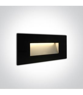 5W LED Alasvalo Black IP65 3000K 68076A/B/W