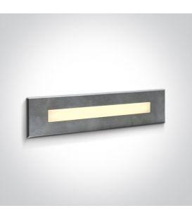10W LED Alasvalo Steel IP65 3000K 68072C/W