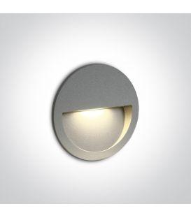 3W LED Alasvalo Grey IP65 3000K 68068/G/W
