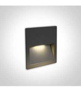 4W LED Alasvalo Anthracite IP65 3000K 68068A/AN/W