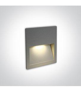 4W LED Alasvalo Grey IP65 3000K 68068A/G/W