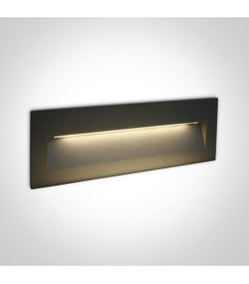 7W LED Alasvalo Anthracite IP65 3000K 68068C/AN/W