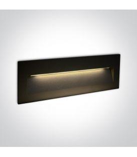 7W LED Alasvalo Black IP65 3000K 68068C/B/W