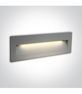 7W LED Alasvalo Grey IP65 3000K 68068C/G/W
