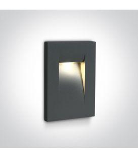 3.6W LED Alasvalo Anthracite IP65 3000K 68062/AN/W