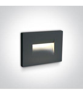 3.6W LED Alasvalo Anthracite IP65 3000K 68064/AN/W