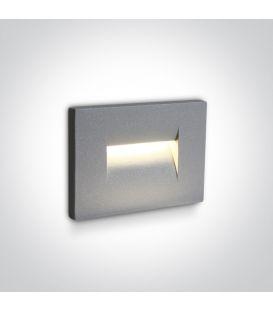 3.6W LED Alasvalo Grey IP65 3000K 68064/G/W