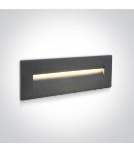 8.5W LED Alasvalo Anthracite IP65 3000K 68066/AN/W