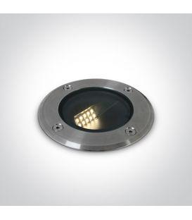 8W LED Alasvalo IP67 Steel 69062/W