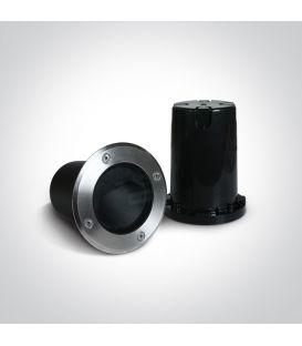 6W LED įmontuojamas šviestuvas Black IP65 69060/B/W