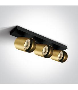 Kattovalaisin RETRO 3 Brushed Brass 65305N/BBS