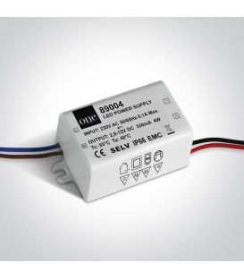LED-muuntaja 1-4W 3-12V ONE LIGHT IP66 89004