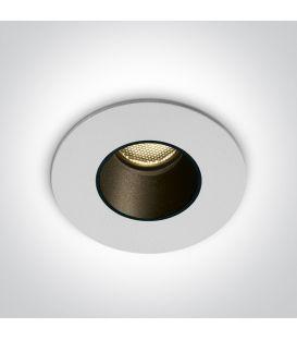 2W LED Alasvalo White 3000K IP65 10102H/W/W