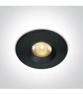 3W LED Alasvalo Black 3000K IP65 10103M/B/W