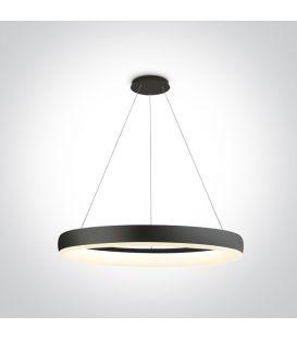 40W LED Riippuvalaisin RING Black 63114/B/W