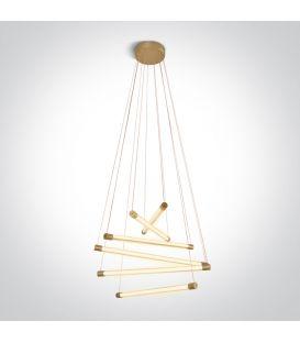 65W LED Riippuvalaisin LIGHT BARS Brushed Brass 63056/BBS