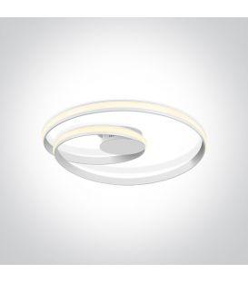30W LED Kattovalaisin SWIRL Ø58 White 63066/W