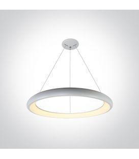 50W LED Riippuvalaisin RING White Ø61 62144NB/W/W