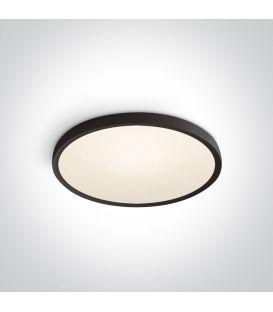 40W LED Kattovalaisin SLIM Ø60 Black 3000K 62152/B/W