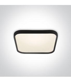 40W LED Kattovalaisin SLIM Black 3000K 62152A/B/W