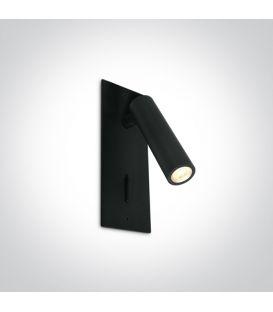 3W LED Seinävalaisin READING Black 65746R/B/W