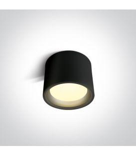 15W LED Kattovalaisin Black Ø13 IP40 12115L/B/W