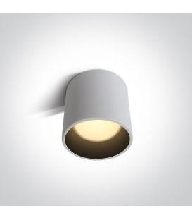 7W LED Kattovalaisin White Ø10 12107LD/W/W