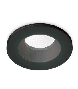 8W LED Alasvalo ROOM-65 ROUND Black IP65 252032